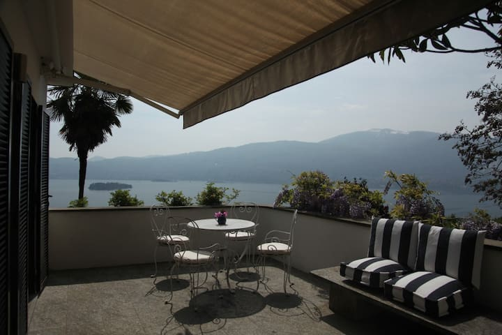 Stunning views on Lake Maggiore - Pallanza - Flat