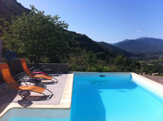 Duplex home with private pool  - Canavaggia - House