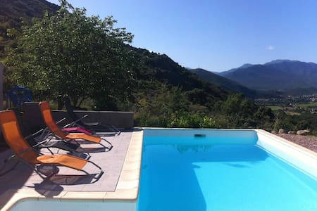 Duplex home with private pool  - Canavaggia