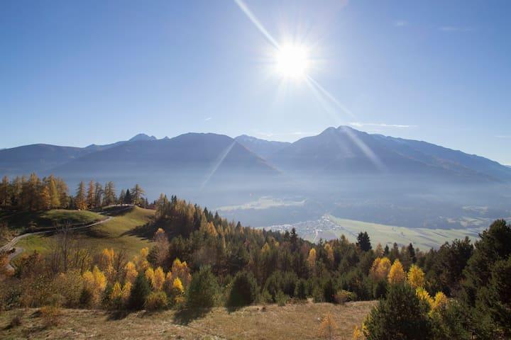 Schöne Panoramaresidenz am Seefelder Plateau