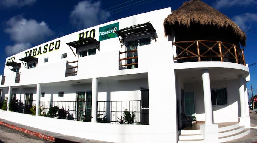 Habitación en Hotel Tabasco Rio - Río Lagartos