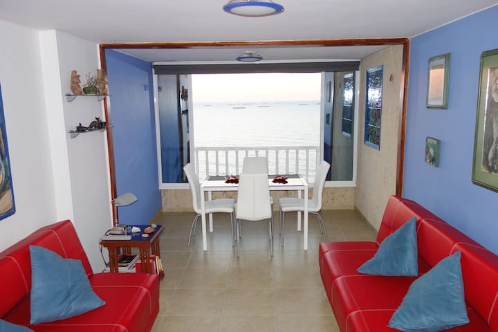 Apartment on private beach - Santa Marta (Distrito Turístico Cultural E Histórico) - Apartment
