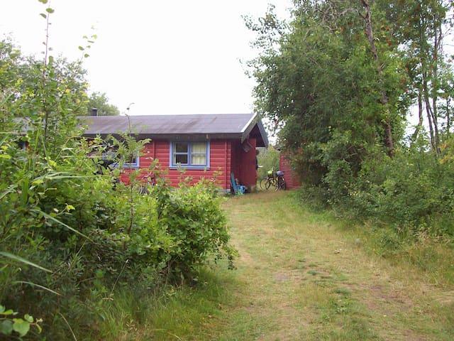 Skønt bjælkehus ved stor naturgrund - Læsø - House