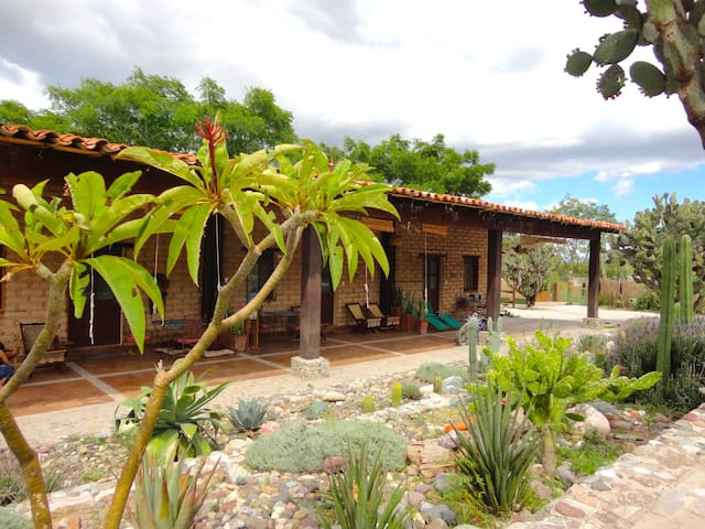 The Girasol Suite at Rancho Pitaya - Rojas de Cuauhtemoc - Oda + Kahvaltı