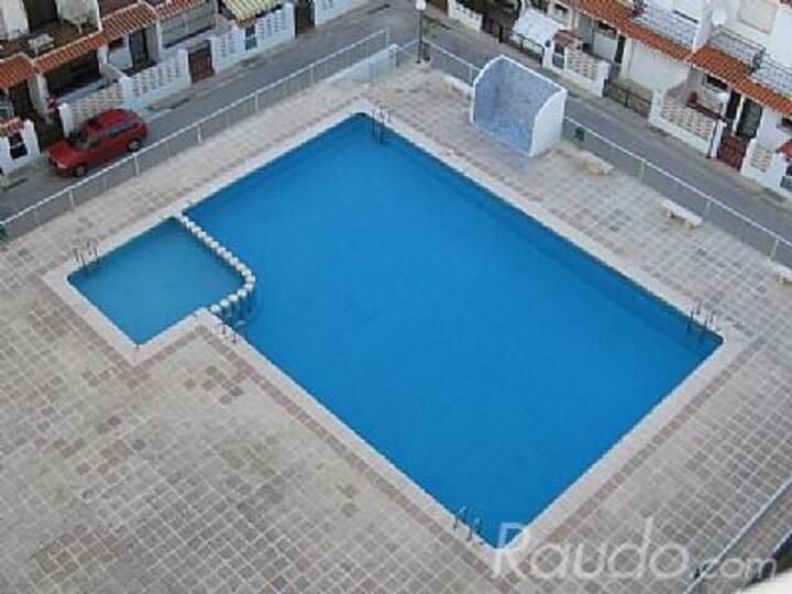DESINFECTADO 3 HAB PLAYA  A 200m,  PISCINA PARKING