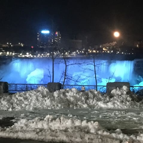 Falls in the Winter