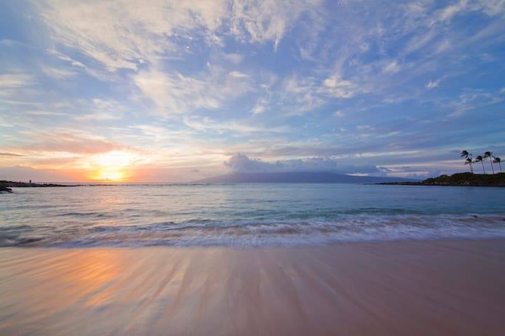 End your day by taking in a sunset at Kapalua Bay