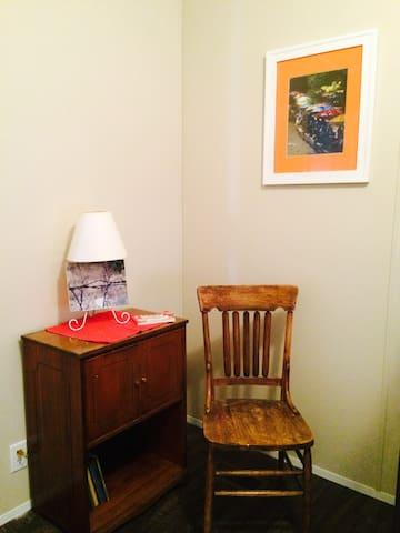 Bunk Room has a bright decor.