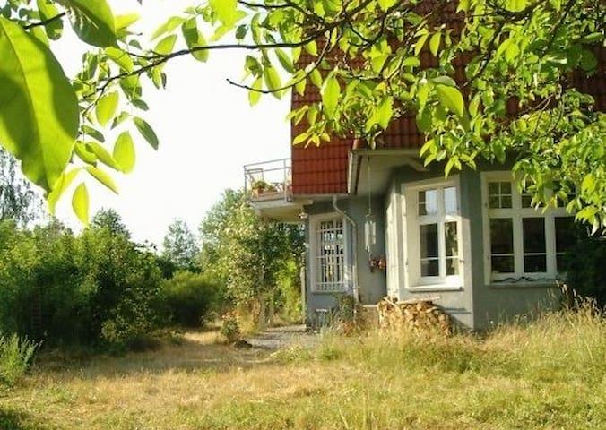 ferienwohnung im alten bahnhof - Waldsolms - Huis