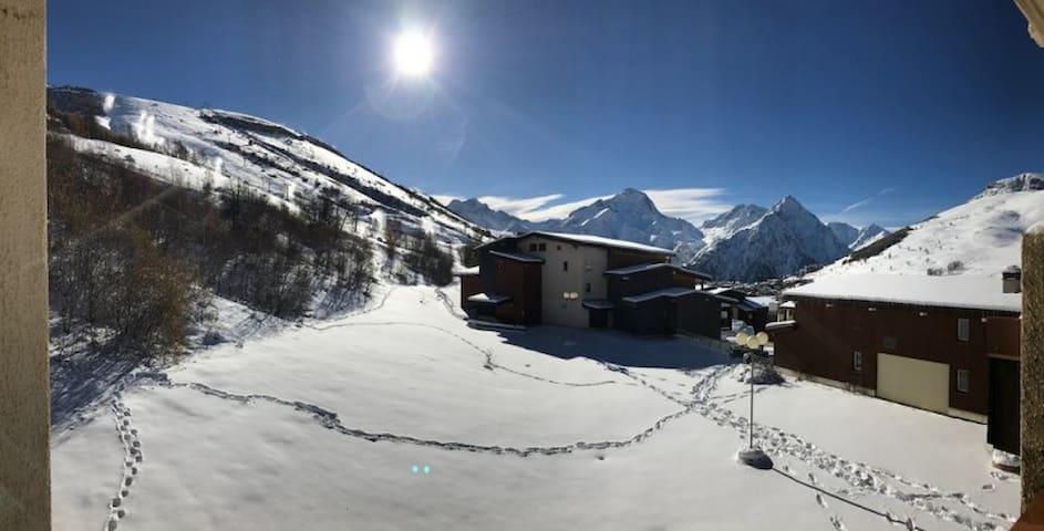 Appart 3*** Pied Pistes Plein SUD Les 2 Alpes WIFI