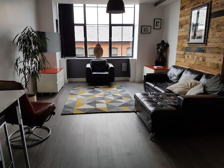 Central Birmingham loft style apartment