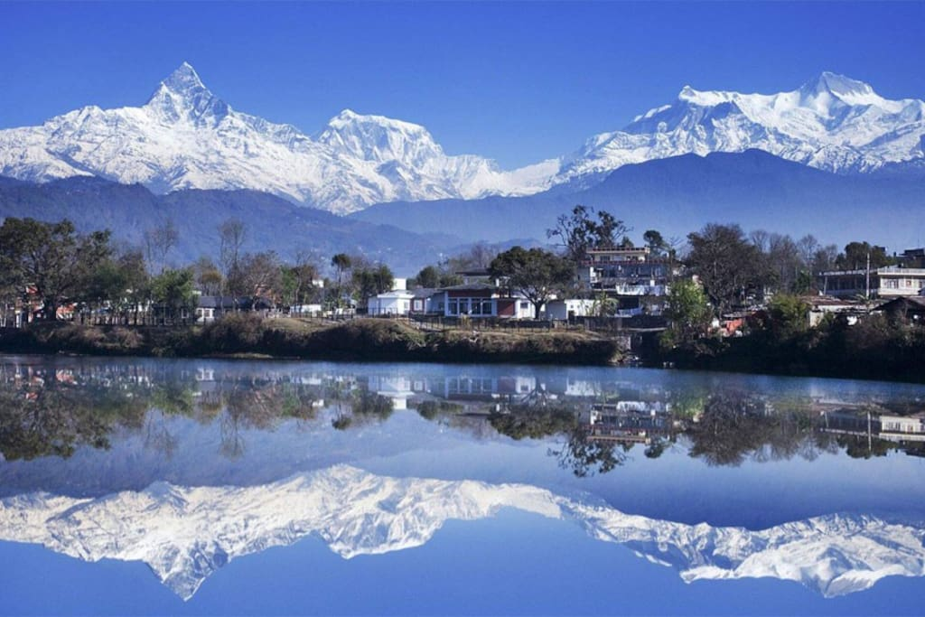 most beautiful place with lake in Pokhara.