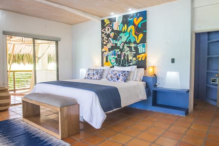 Blue Apple Beach House - Papaya Island Hotel Room - Cartagena - Casa