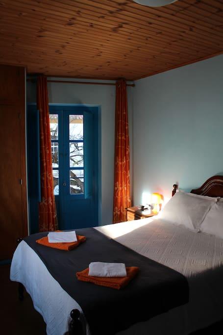 Main floor master bedroom