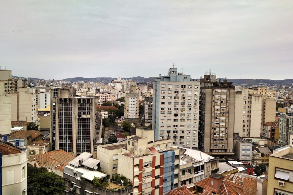 Vista das janelas