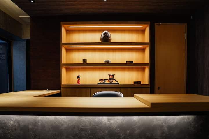 *Room302*Kyotofish Boutique Hotel*1min to Kamogawa