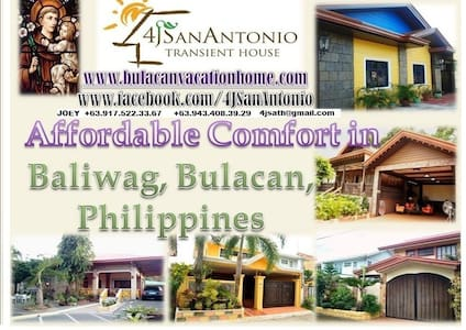 Furnished House for Rent Bulacan - Subic Baliuag - Hus