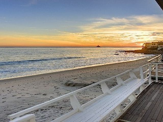 Malibu Beachfront Three Bedroom Bungalow