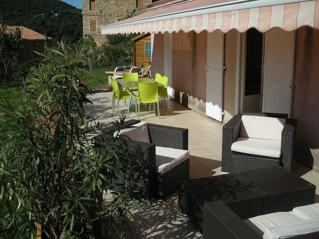 Un coin de paradis vue mer et piscine - Coggia - Casa