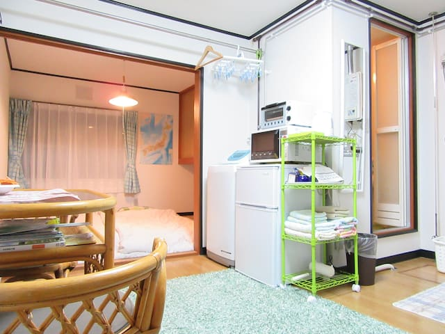 Opening Price! Comfortable Apt/Great Location/Wifi - 旭川市 - Apartmen