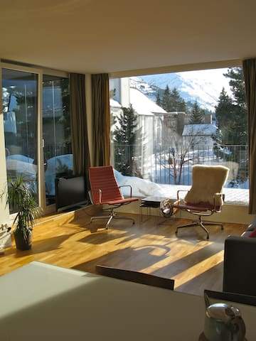 Design flat in center Andermatt - Andermatt - Lägenhet