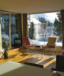 Design flat in center Andermatt - Andermatt - Apartament
