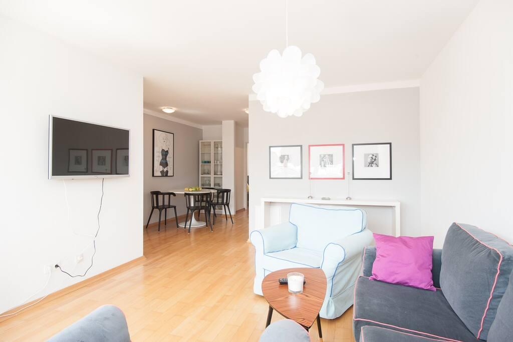Central design apartment apartments for rent in vienna for Designer apartment vienna