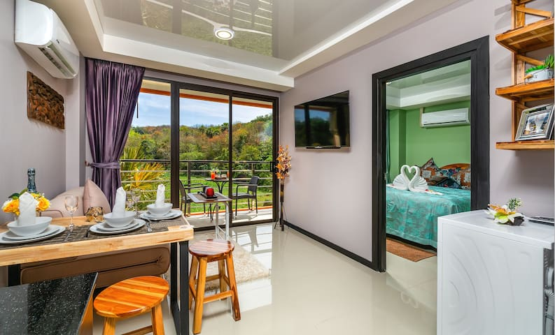 Green Nature View 1 Bedroom Apartment @Nai Harn