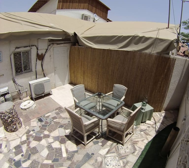 Private Red Sea Unit with yard