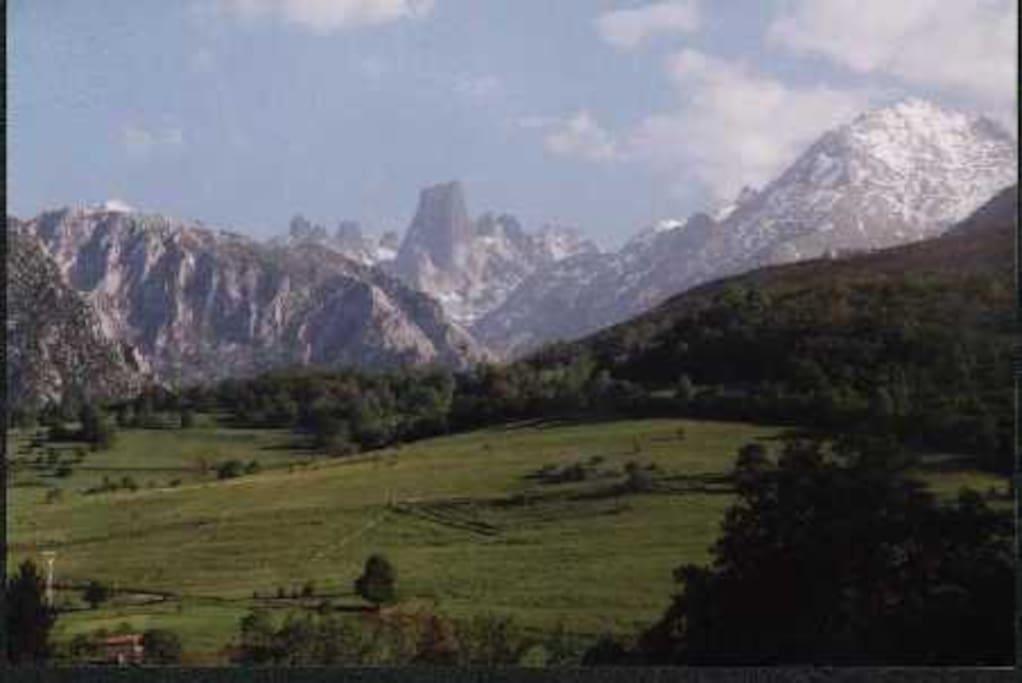 Los Picos de Europa están a un paso.