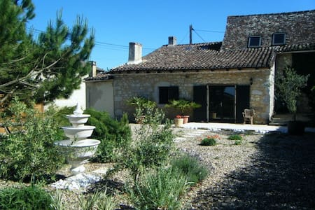 Lovingly Renovated Stone Farmhouse! - Eymet - Hus
