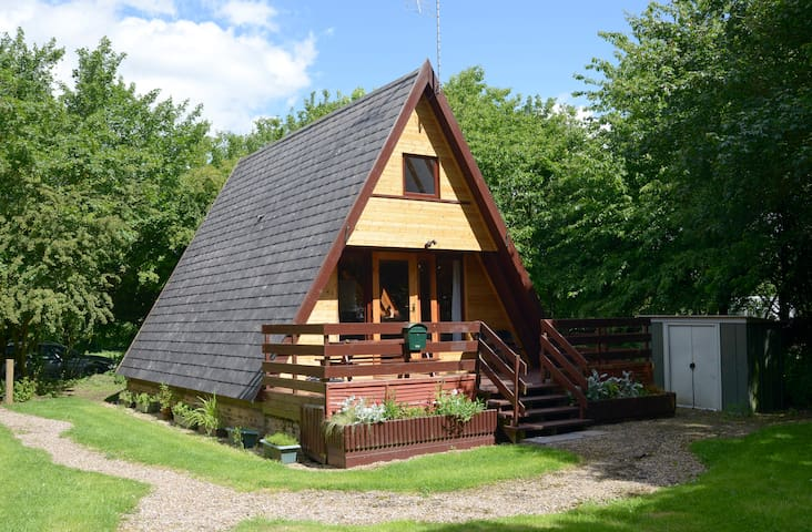 Quirky cabin in tranquil woodland - Grafham - Blockhütte