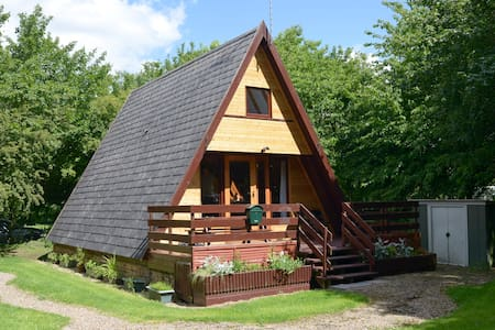 Quirky cabin in tranquil woodland - Grafham - Kabin