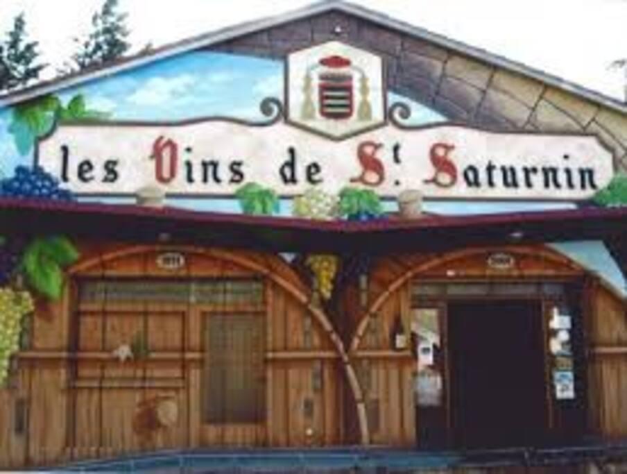 Une des caves viticoles du village