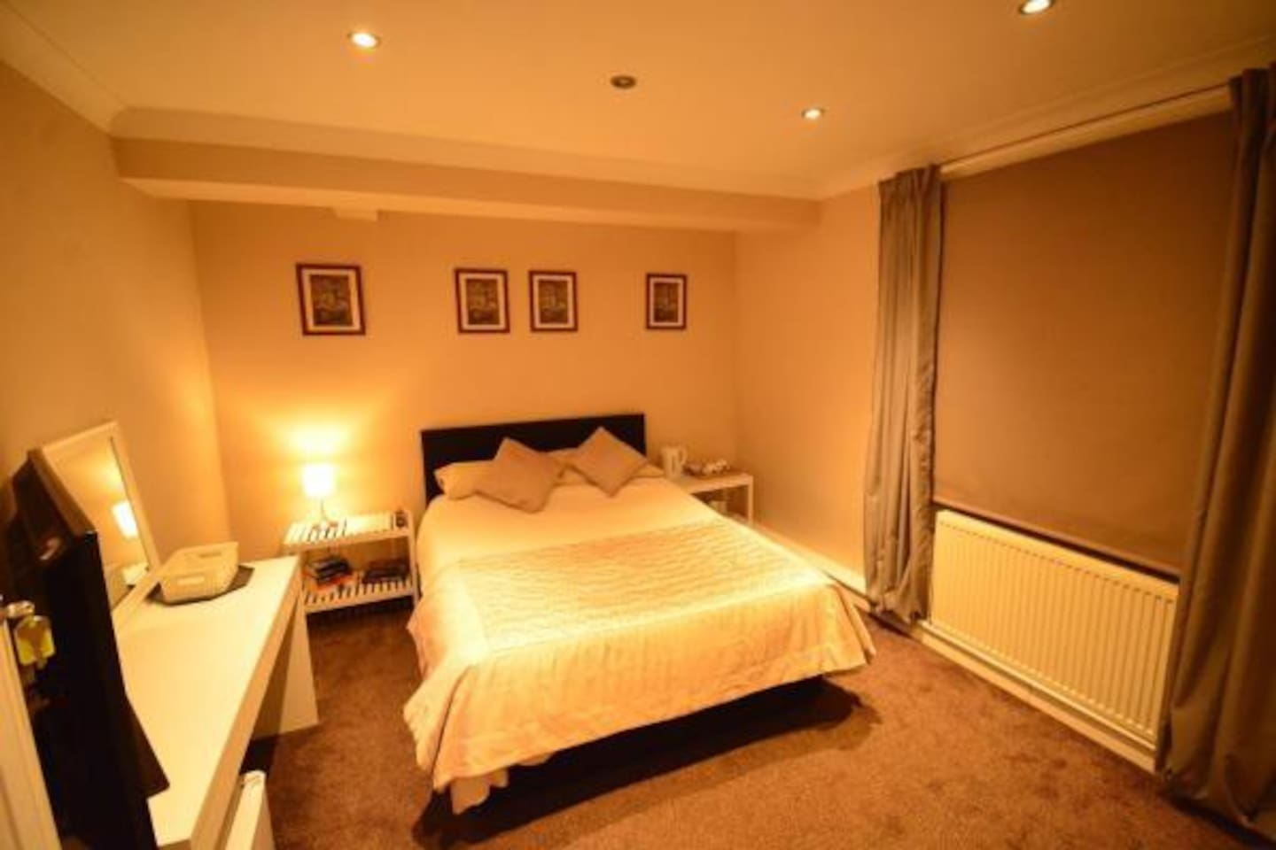 A beautiful modern room in a stylish City Centre Aparthotel.