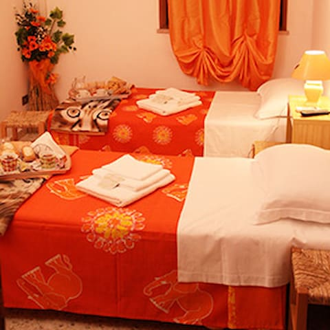 B&B La Riserva Camera Arancio - Isoletta - Bed & Breakfast