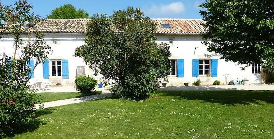 House - 100 km from the beach - Saint-Vincent-la-Châtre - Huis