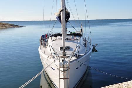 Sailing on your own boat in Stockholm Archipelago - Saltsjöbaden