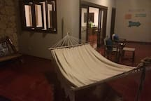 Large Terrace with Hammock!