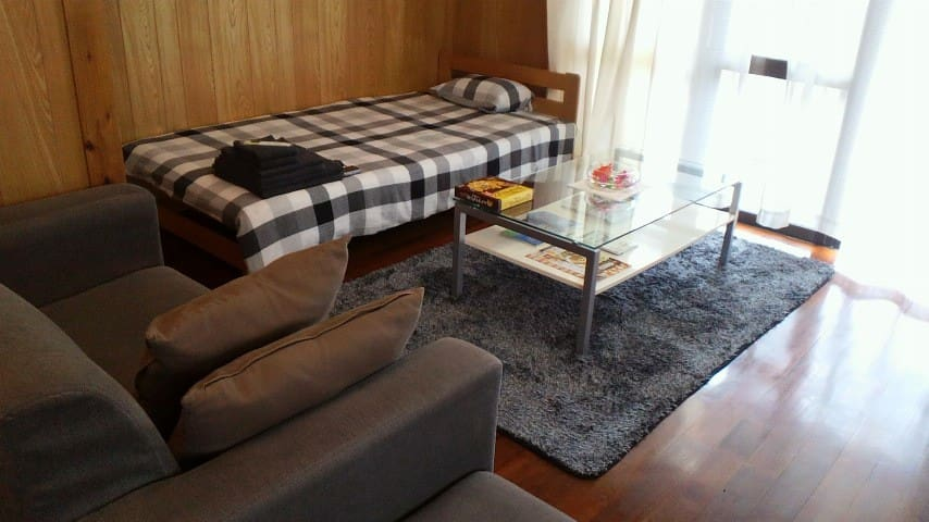 TigerHouse☆Free WiFi+One parking☆ - Urasoe - Apartemen