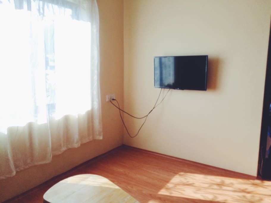 TV in the living room客厅电视