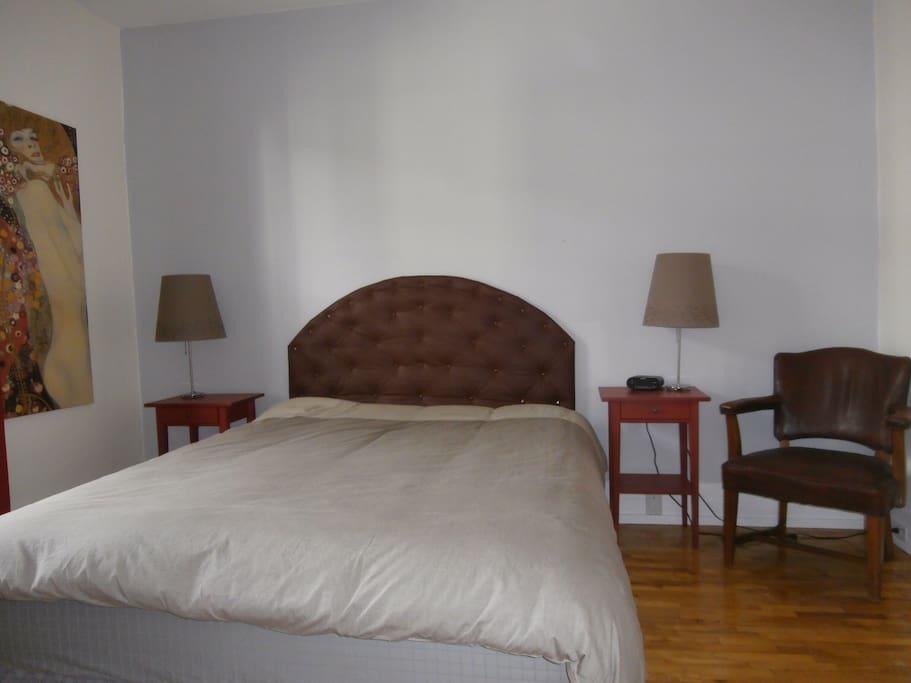 Chambre à coucher principales