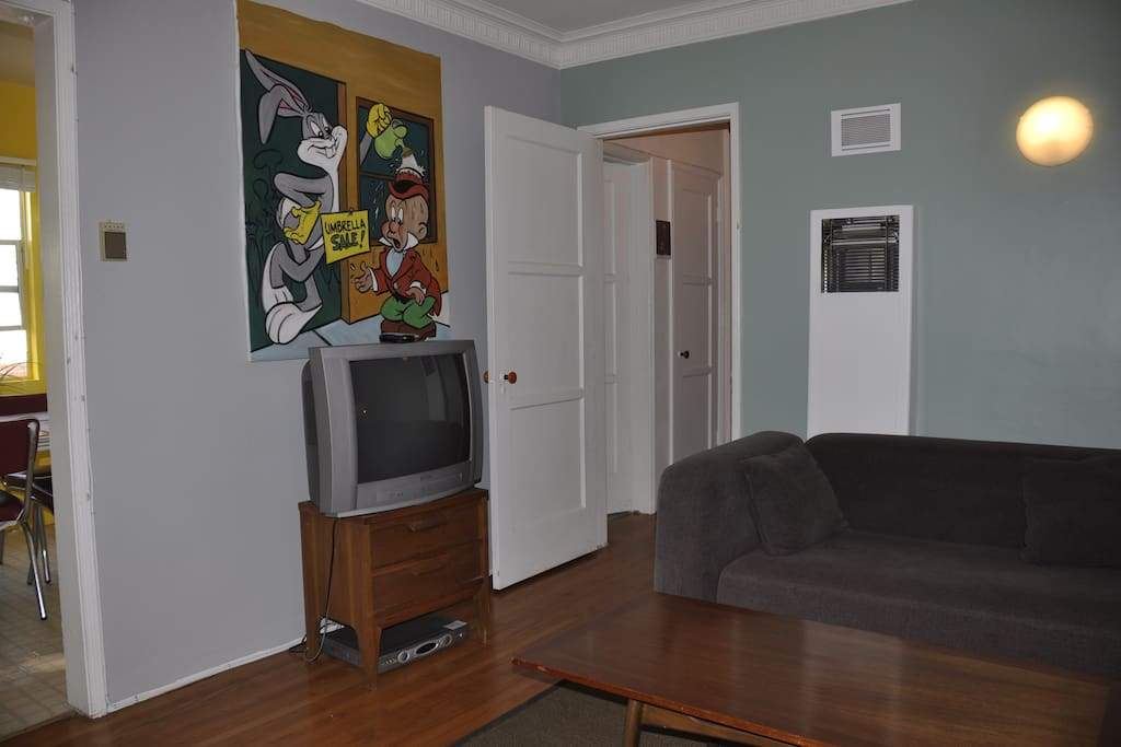 Charming 1bd apt Melrose Beverly GU