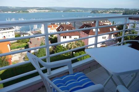 Apartam vistas a 15 k Coruña  - Sada - Flat