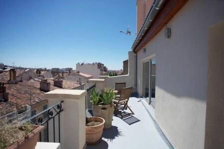 Loft-Duplex Terrasse Belle Vue - Marseille