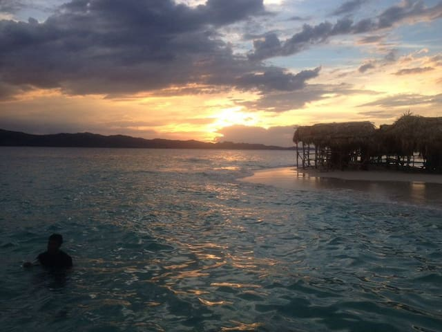 Sunsets in Cayo Paraiso