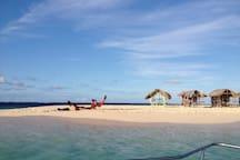 Kite Surfing in Cayo Paraiso