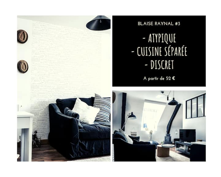 ★ Appartement Atypique ★ Cuisine Design ★ Parking