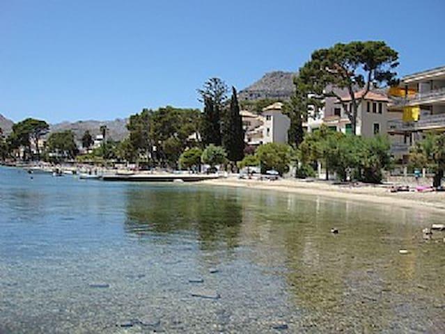 Precioso bajo en 1ª linea de playa - Puerto Pollensa (Palma de Mallorca) - Hus