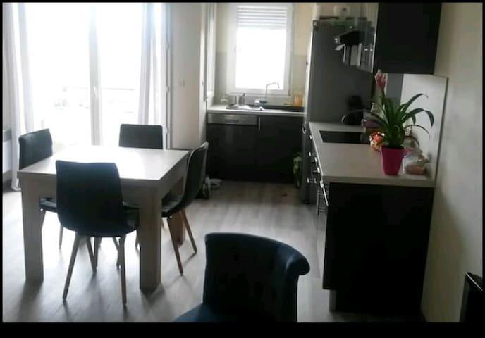 Chambre 10m2 à blagnac - Blagnac - Apartment